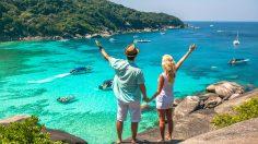 Casal em Similan Island - Tailandia
