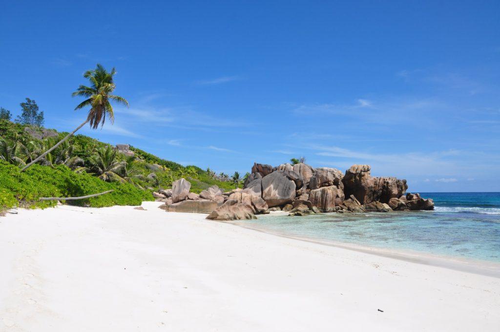 Praia de La Digue, Seychelles
